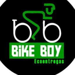 Entregador de bike bikeboy