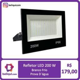 Título do anúncio: Refletor LED Holofote IP66 200W | Branco Frio