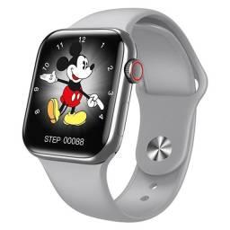 Título do anúncio: Relógio Smartwatch HW16 Tela Infinita Prata