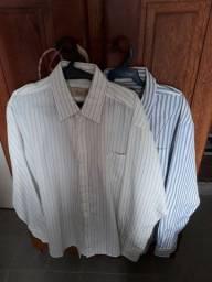 Camisa Social Microfibra 2 Camisas Novas e Nunca Usadas