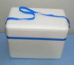 Caixa de isopor 18 litros térmica