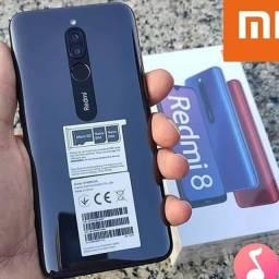 Xiaomi Redmi 8 64GB/ 4 Ram Loja Fisica + 1 Ano de Garantia + Brinde