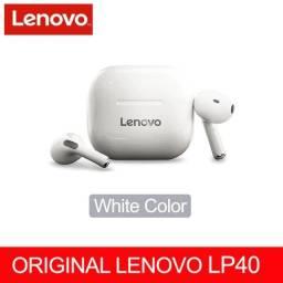 Título do anúncio: Novo original fone lenovo lp4 com microfone driver dinâmico de 13mm para som alto