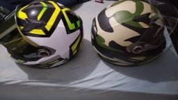 Vendo capacetes LS2 N58 e N60