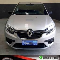 Renault Logan Life 1.0 2020 Completo ( Financiamento Sem Entrada !)