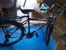 Uma bicicleta sime Nova bayque pra vender por 600$reais  a vista ou no cartão com