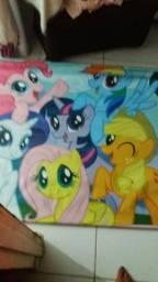 Banner da my litle pony aprox 1.50 de largura