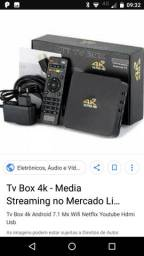 Tv box novo transforme sua tv em smart