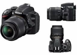 Câmera Nikon D3200 semi-nova