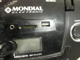 Som USB/FM/ SD/ lAUX portátil!