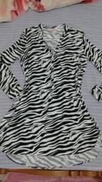 Vestido estilo camisão