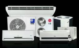 Instalação de ar condicionado a partir de R$ 200,00