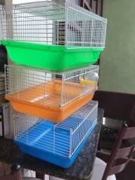 Vendo gaiolas para hamster