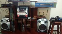 Som aiwa, dvd sony e playstation 2