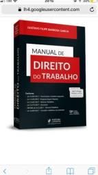 Livro Manual de Direito do Trabalho, NOVO