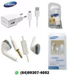 Fones de ouvido e Carregadores de celular