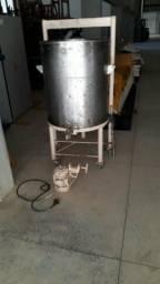 Tanque agitador inox 200 litros. Leia