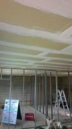Rebaixamento/ parede drywall / forro