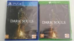 Lançamento Dark souls remastered ps4 e one