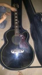Violão epiphone Gibson ej 200 black (jumbo)