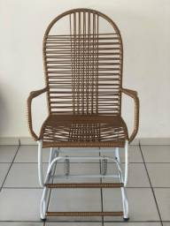 Cadeira balanço 2 molas