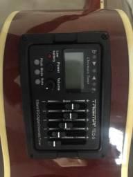 Violão TAGIMA pouco uso, elétrico, afinador, náilon
