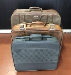 Kit 3 malas antigas