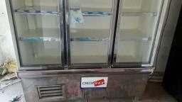 Freezer de 3 portas