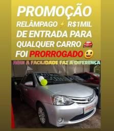 Muito FÁCIL!! R$1MIL DE ENTRADA(ETIOS 1.5 SEDAN 2013 COMPLETO)