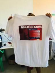 Camisa personalizada R$ 20,00