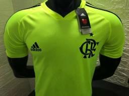 6f43569a10 Camisa de treino do Flamengo verde 2019
