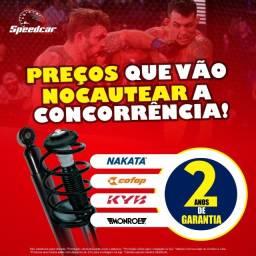 Chevrolet Cobalt 11 a 16 - 4 Amortecedores Novos Cofap, Monroe, KYB, Nakata já instalados