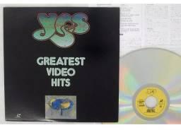 Yes - Greatest Video Hits - Laserdisc - LD - Japão
