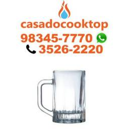 Título do anúncio: Caneca Chopp 300ML p/ congelar Milano Ideal Promocao Bar e Restante Chopp Artesanal
