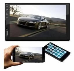 Multimídia First Option Espelhamento Bluetooth USB Sd card