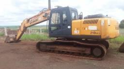 Escavadeira Hidráulica Hyundai R210