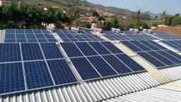 Energia Solar Fotovoltaica - Placas solares e inversores