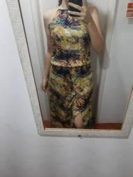 Vestido longo semi novo