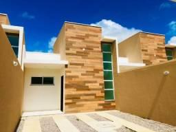 WS casa nova com arquitetura moderna com 2 quartos amplos e 2 banheiros