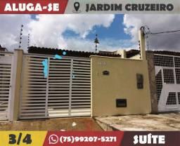 Ótima Casa, 3/4-Suíte-Jardim Cruzeiro-Feira de Santana-Ba