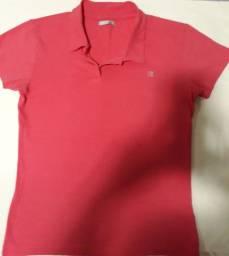 Blusa na cor rosa, tamanho M