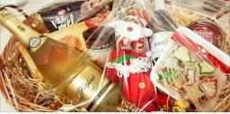 Cesta Natal personalizada
