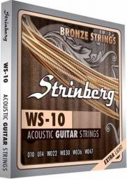 Encordoamento violão aço 0.10 Strinberg