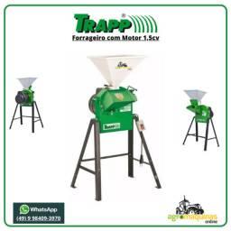 Frete Grátis - Forrageiro com Motor 1,5cv 220v - Trapp - Agromaquinas Online