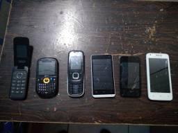 Vendo telefones celulares