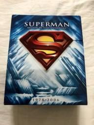 Box Coleção Superman The Motion Picture Anthology Bluray importada