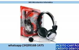 Fone De Ouvido Red Set Headphone Gamer Lan House