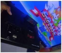 Mega Drive 2017 com cartão Micro SD