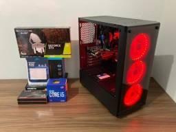 Cpu Gamer Gtx 1650 4Gb ! I5 10Th° Geração ! 16Gb Ddr4 3000Mhz ! Ssd 256Gb