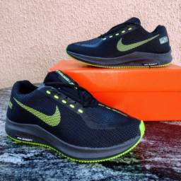 Título do anúncio: Tênis Nike Zoom Preto Verde Masculino (Frete Grátis)